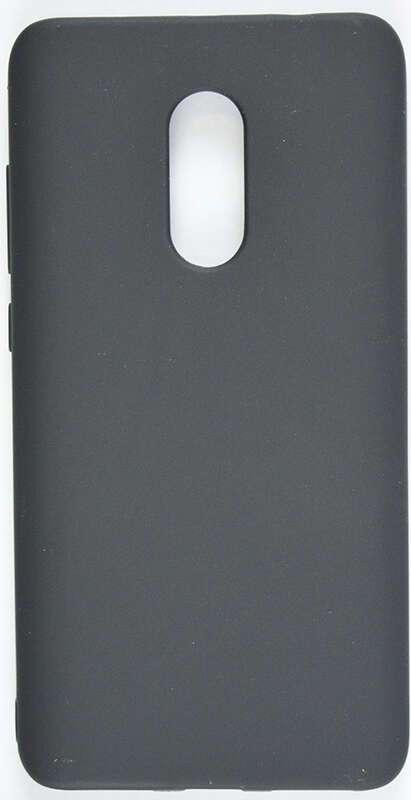 Защитный чехол TPU черный DUB для Xiaomi Redmi Note 4