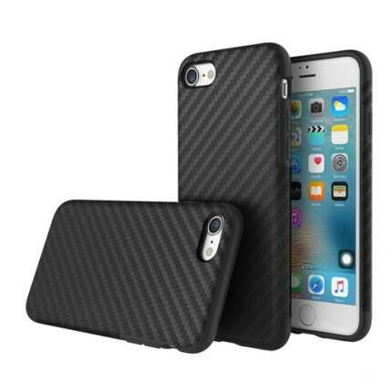 Защитный чехол Rock iPhone 7 plus черно-серый