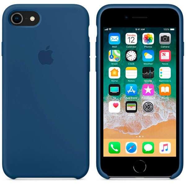 Чехол Apple для iPhone 8/7 Silicone Case MQGN2 Blue Cobalt