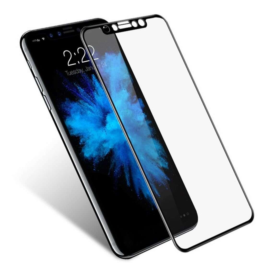 Защитное 3D стекло Dub для iPhone X