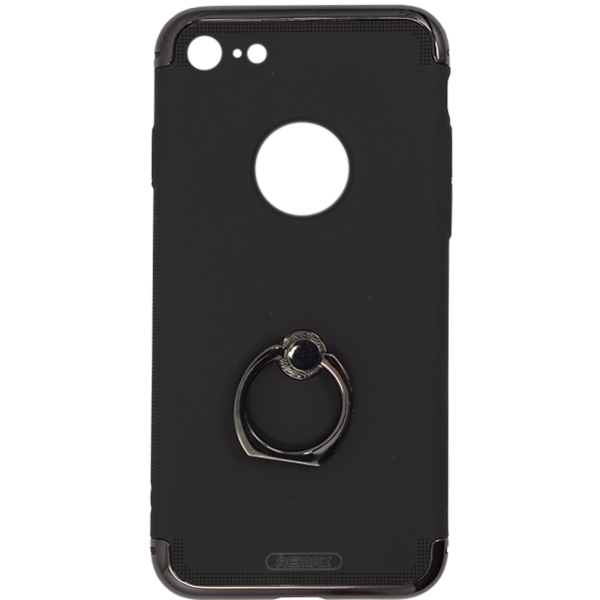 Чехол Remax  Lock Seies Case для iPhone 7/8 (With ring holder), черный
