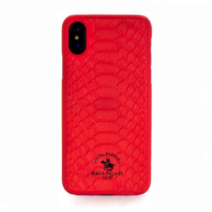Чехол Santa Barbara для iPhone X, красный
