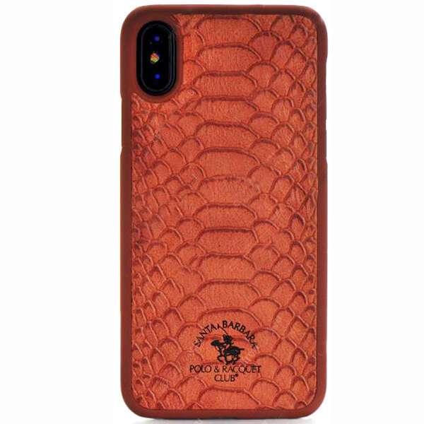 Чехол Santa Barbara для iPhone X, коричневый
