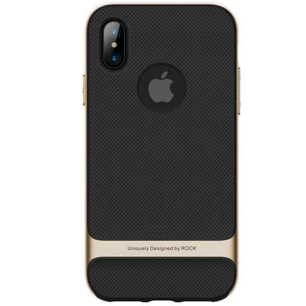 Чехол Rock для iPhone X, черный