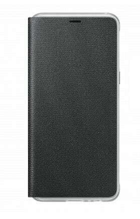 Чехол Samsung Neon Flip Wallet для Galaxy A8 EF-FA530PBEGRU Black