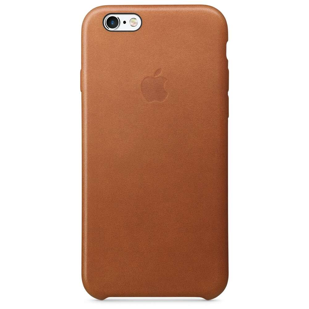 Чехол Apple MKXT2 iPhone 6s Leather Case Saddle Brown