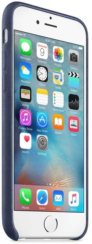 Чехол Apple iPhone 6s Plus Leather Case Midnight MKXD2 Blue