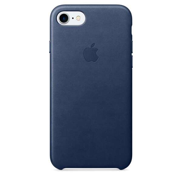 Чехол Apple MMY32ZM/A, iPhone 7 Leather Case - Midnight Blue