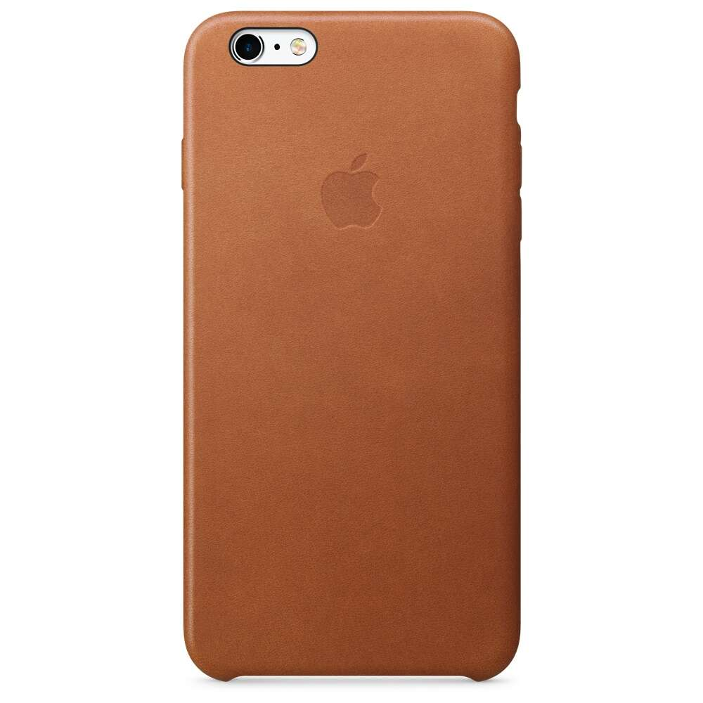 Чехол Apple MKXC2 iPhone 6s Plus Leather Case Saddle Brown