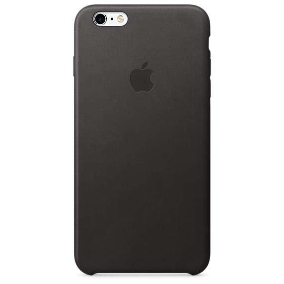 Чехол Apple MKXF2 iPhone 6s Plus Leather Case Black