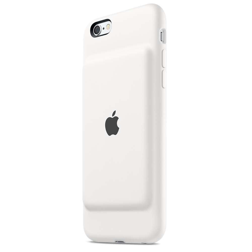 Чехол-аккумулятор Apple MGQM2 iPhone 6s Smart Battery Case White