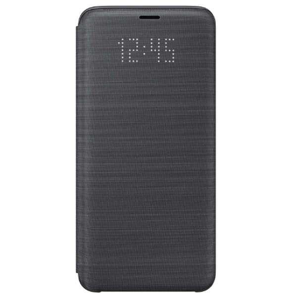 Чехол Samsung LED View Cover для Galaxy S9, черный