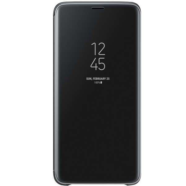 Чехол Samsung Clear View Standing Cover для Galaxy S9+, черный