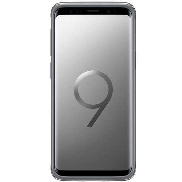 Чехол Samsung Protective Standing Cover для Galaxy S9+, серый