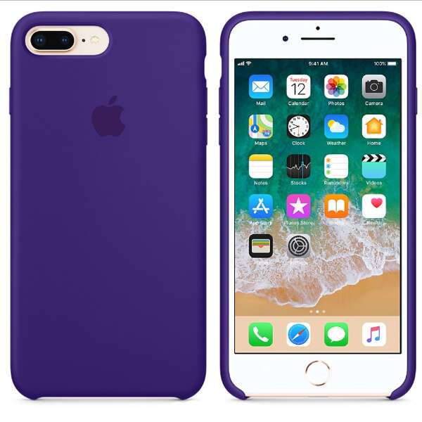 Чехол для смартфона Apple  iPhone 8 Plus / 7 Plus Silicone Case (Ultra Violet)