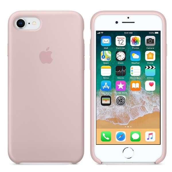 Чехол для смартфона Apple  iPhone 8 / 7 Silicone Case (Pink Sand)