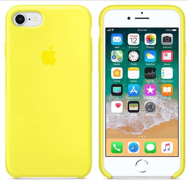 Чехол Apple iPhone 8/7 Silicone Case Flash