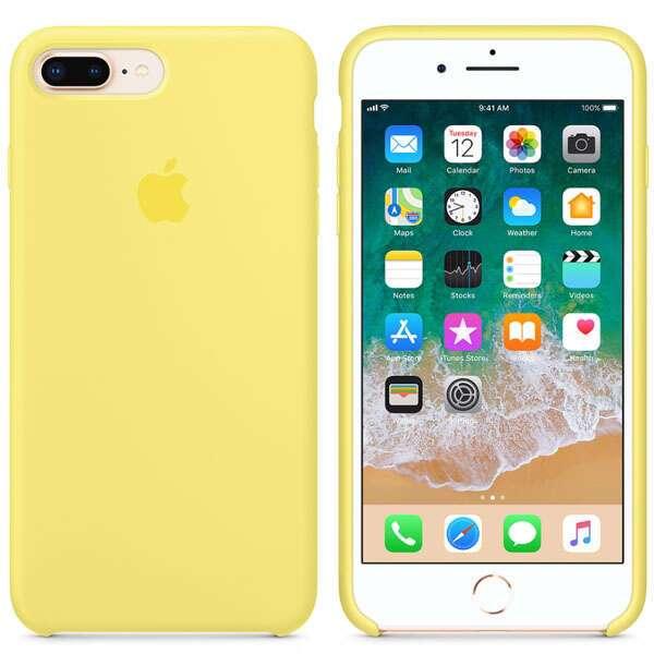Чехол для смартфона Apple iPhone 8 Plus/7 Plus Silicone Case (Lemonade)
