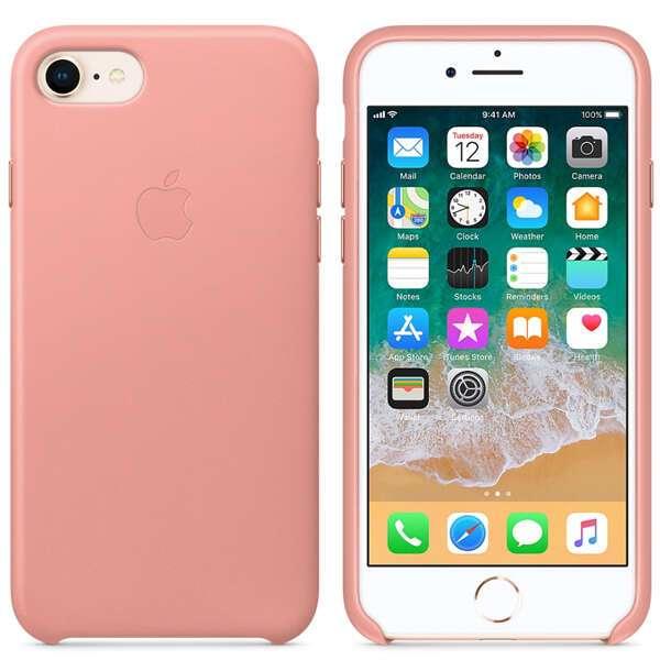 Чехол для смартфона Apple iPhone 8 / 7 Leather Case (Soft Pink)