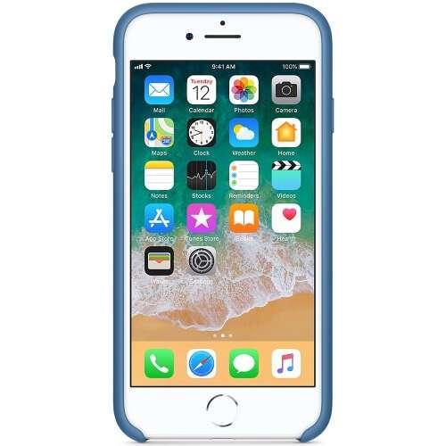 Чехол Apple iPhone 8/7 Silicone Case MRFR2ZM Denim Blue