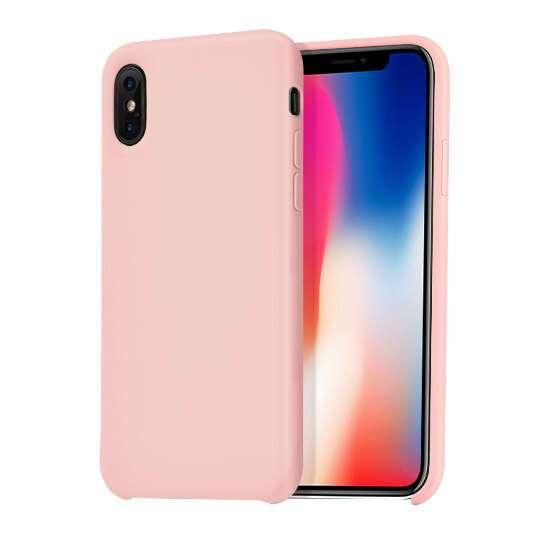 Чехол Hoco Pure series для iPhone X Pink