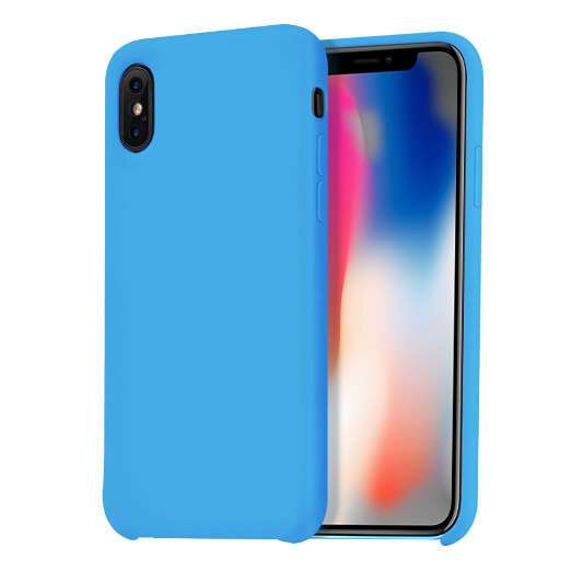 Чехол Hoco Pure series, для iPhoneX (Blue)