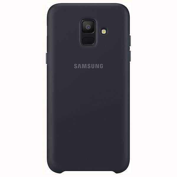 Чехол Samsung Dual Layer Cover для Galaxy J6 EF-PJ600CBEGRU Black