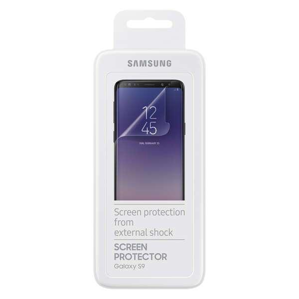 Защитная пленка Samsung   для  Galaxy S9 ET-FG960CTEGRU