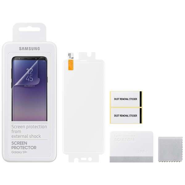 Защитная пленка Samsung  Galaxy S9+ ET-FG965CTEGRU
