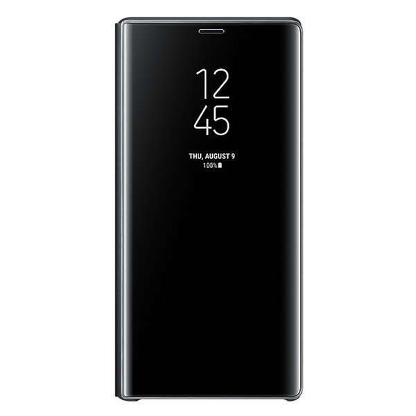 Чехол Samsung Clear View Standing Cover для Galaxy Note 9 EF-ZN960CBEGRU Black