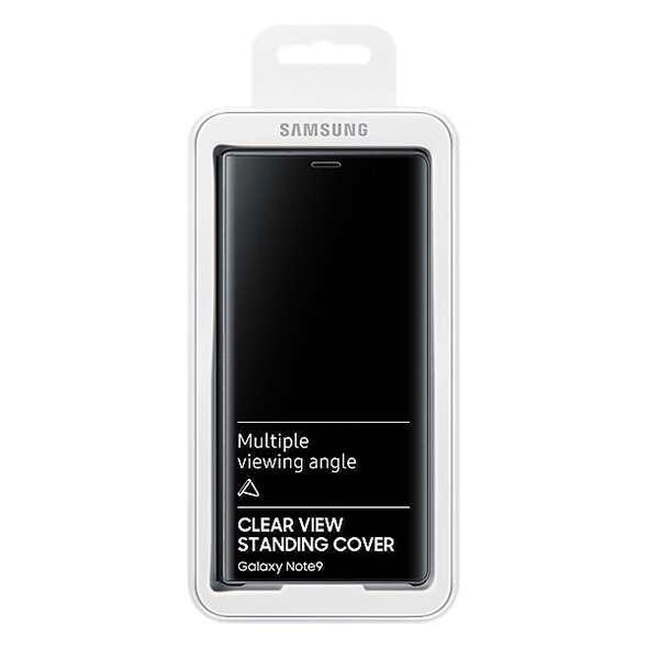 Чехол Samsung Clear View Standing Cover для Galaxy Note 9 (EF-ZN960CBEGRU), Black