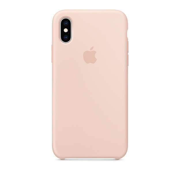 Чехол для смартфона Apple iPhone XS Silicone Case (Pink Sand)
