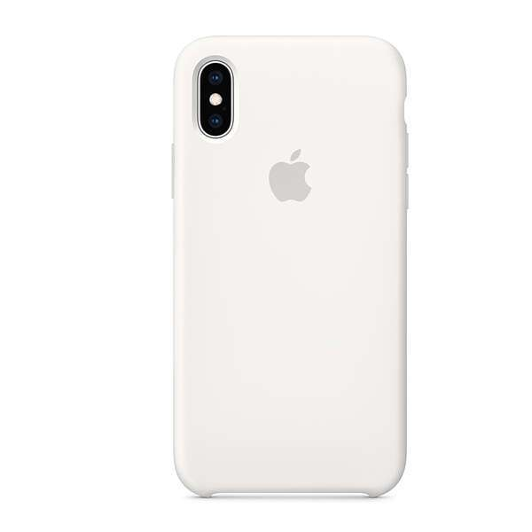 Чехол для смартфона Apple iPhone XS Max Silicone Case (White)