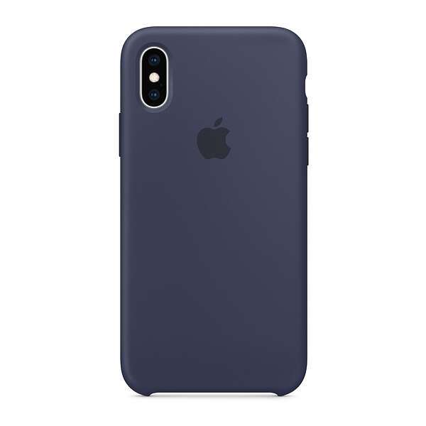 Чехол для смартфона Apple iPhone XS Max Silicone Case (Midnight Blue)