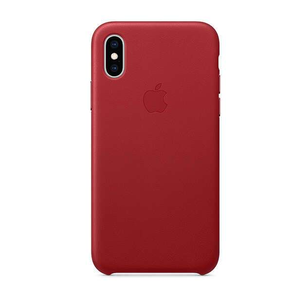 Чехол для смартфона Apple iPhone XS Leather Case (PRODUCT)RED
