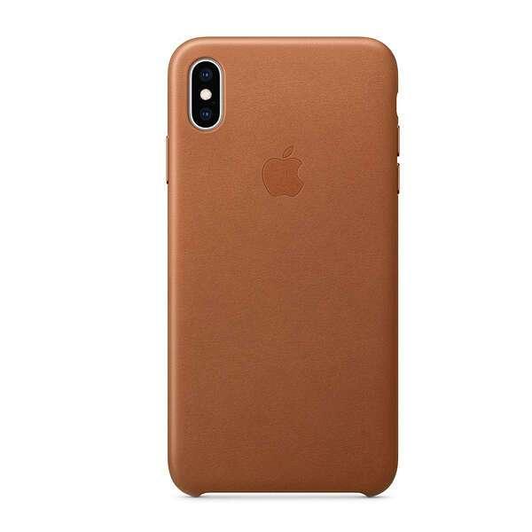Чехол для смартфона Apple iPhone XS Max Leather Case (Saddle Brown)
