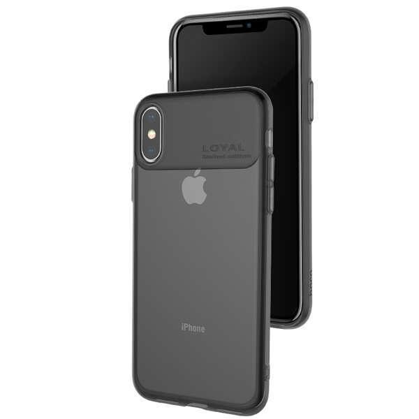Чехол Hoco Water rhyme для iPhone X/XS Black
