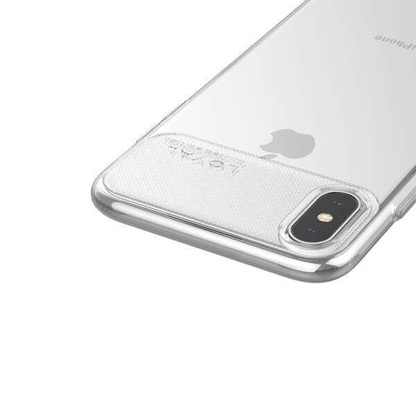 Чехол Hoco Water rhyme для iPhoneX/XS, прозрачный