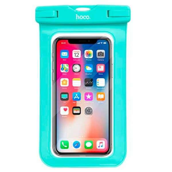 Чехол для смартфона Hoco Универсальный водостойкий зеленый