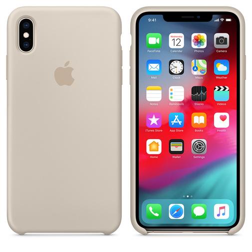 Чехол для смартфона Apple iPhone XS Max MRWJ2 Silicone Case Stone