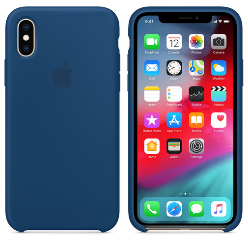 Чехол для смартфона Apple iPhone XS Max MTF92 Silicone Case Blue Horizon