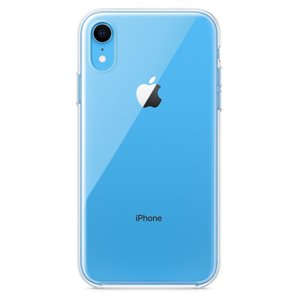 Чехол Apple iPhone XR Clear Case MRW62