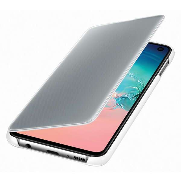 Чехол для Samsung Galaxy S10e Clear View Cover White EF-ZG970CWEGRU