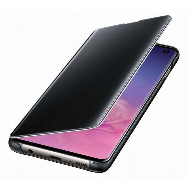 Чехол для смартфона Samsung Galaxy S10 Clear View Cover черный (EF-ZG973CBEGRU)