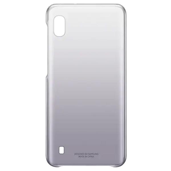 Чехол для смартфона Samsung Galaxy A10 Gradation Cover черный (EF-AA105CBEGRU)
