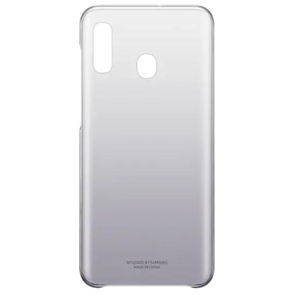 Чехол для смартфона Samsung Galaxy A20 Gradation Cover черный (GEF-AA205CBEGRU)
