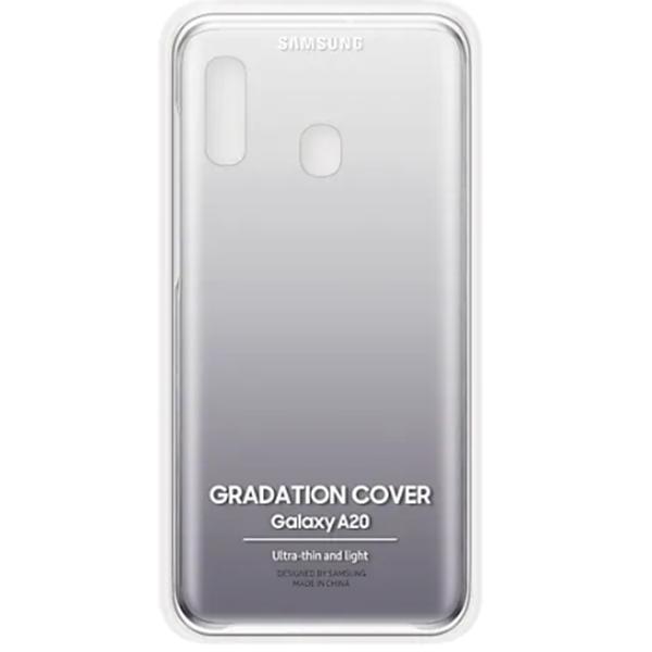 Чехол для Samsung Galaxy A20 Gradation Cover Black GEF-AA205CBEGRU
