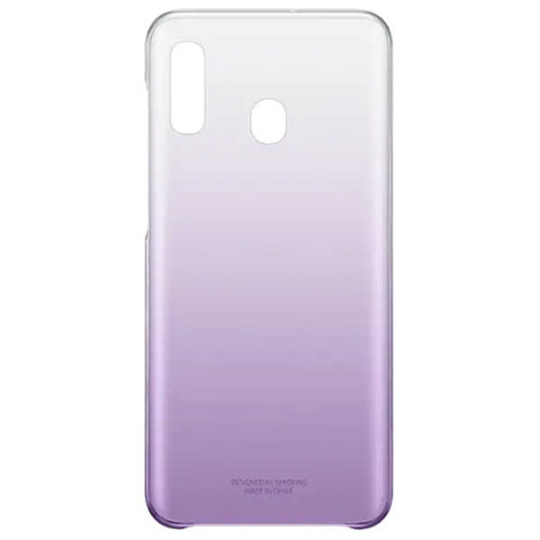 Чехол для Samsung Galaxy A20 Gradation Cover Purple EF-AA205CVEGRU