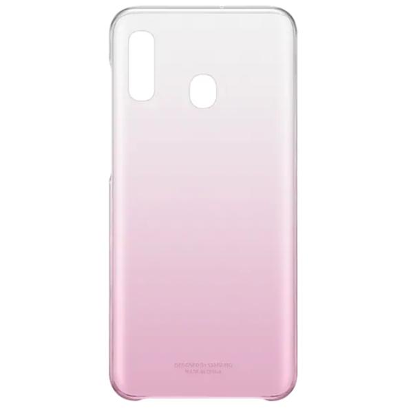 Чехол для смартфона Samsung Galaxy A20 Gradation Cover розовый (EF-AA205CPEGRU)