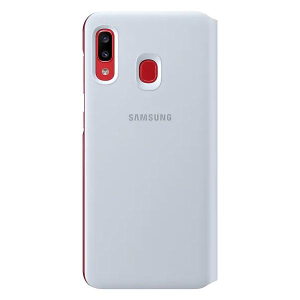 Чехол для смартфона Samsung Galaxy A20 Wallet Cover белый (EF-WA205PWEGRU)